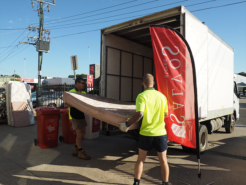 The-Mattress-recycler-pickup
